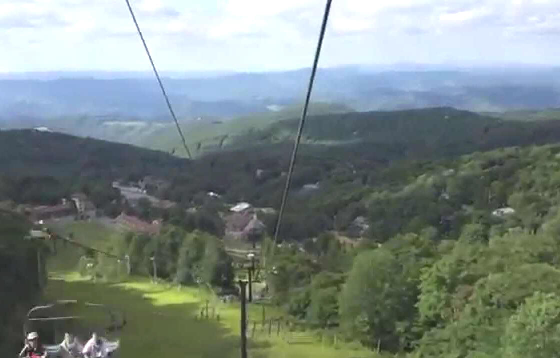 Beech Mountain NC Ski in the WInter and cool down in the Summer