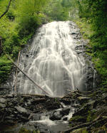 Crabtree Falls on the Blue Ridge Parkway