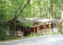 Mountain cottage rental on a creek in Pisgah FOrest