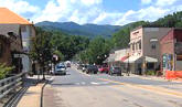 Bryson City NC is known for outdoor mountain sports