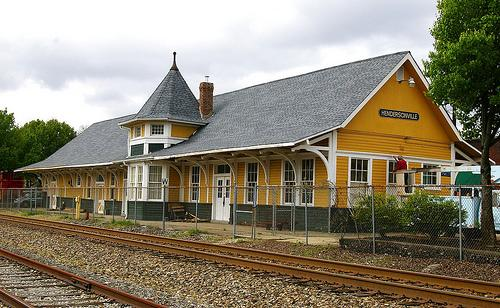 Hendersonville_Historic_Train_Station_Hendersonville_NC_Attraction