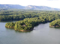 Lake James offers lakefront homes in the mountains
