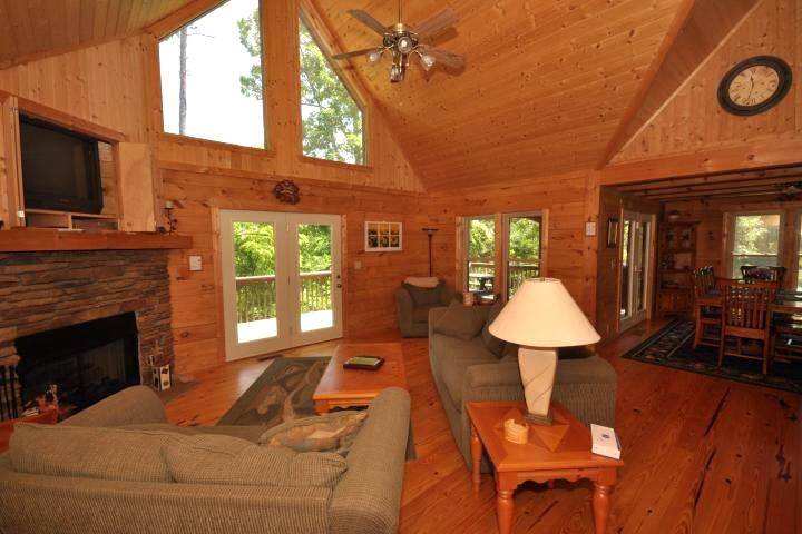 Lake Lure vacation rental in Rumbling Bald with 5 bedrooms