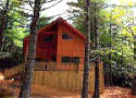 Mountain Dream Cabin on the Blue Ridge Parkway in Spruce Pine near Linville NC