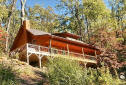New cabin rental with hot tub and contemporary amenities