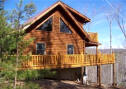 mountain view cabin rental in Lake Lure's Ricerbend community