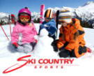Ski Country Sports sels and rents ski and sports gear