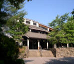 The Folk Art Center on the Blue Ridge Parkway in Asheville NC