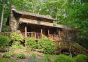 authentic log cabin vacation rental